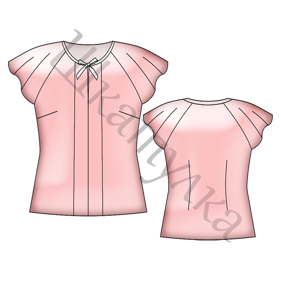 Готовые выкройки блузок 50 размер фото 912