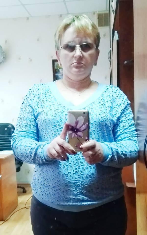 двохцветный пуловер 54 размер