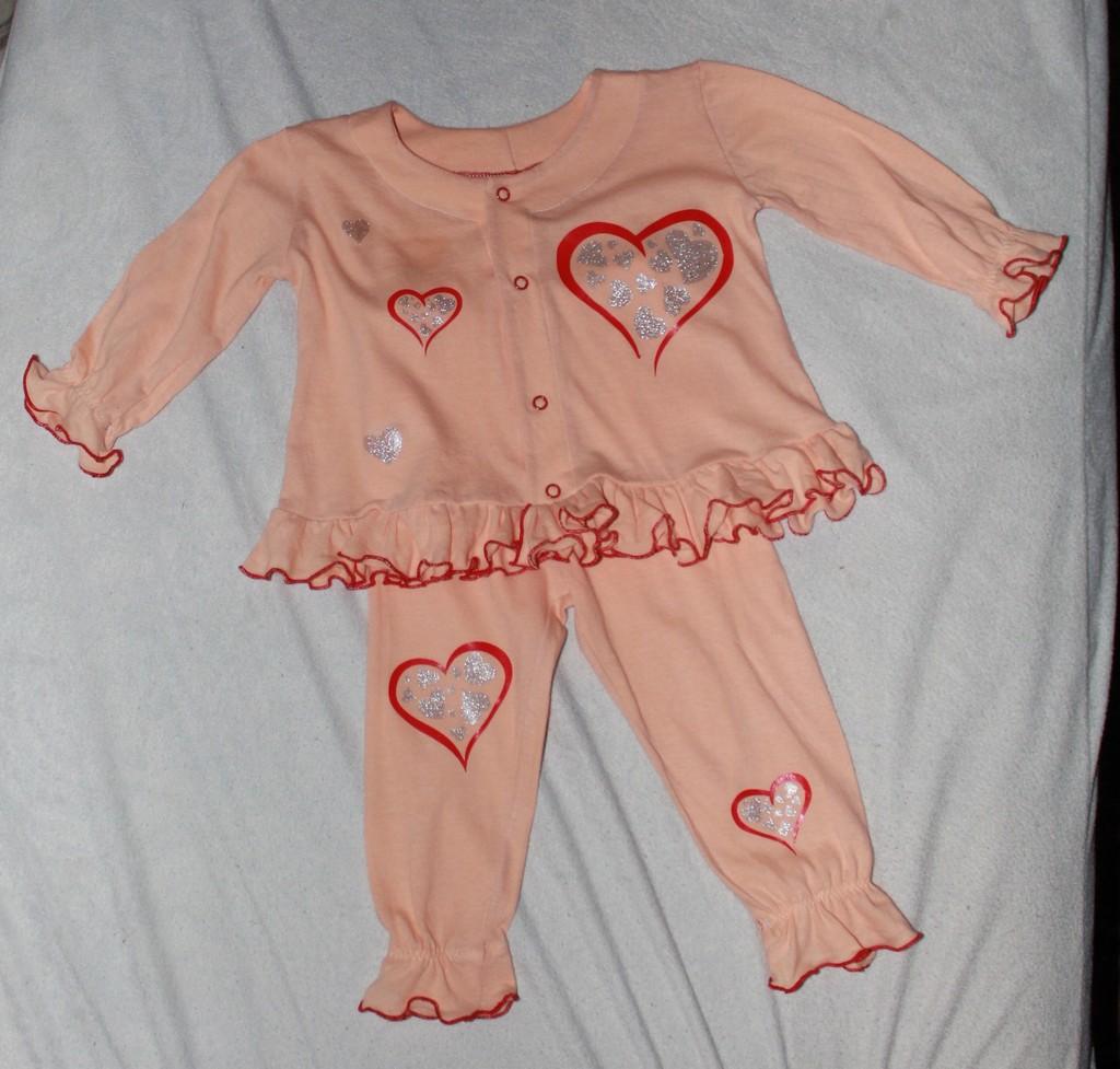 Пижамка для младшей дочурки