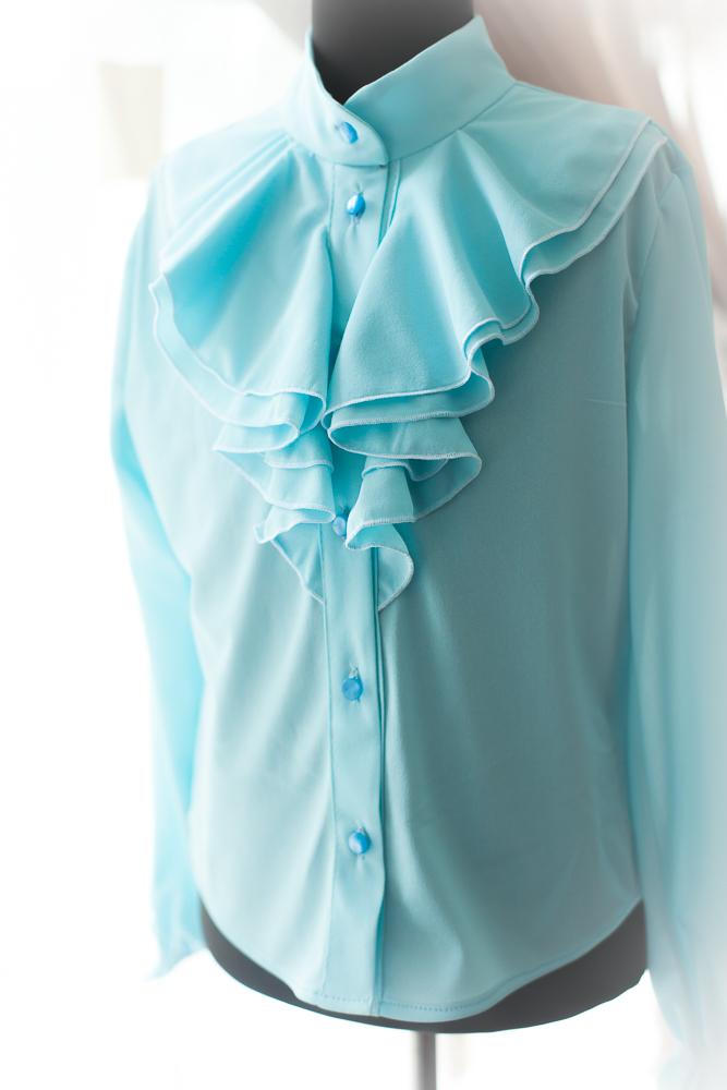 Выкройка блузки для девочки