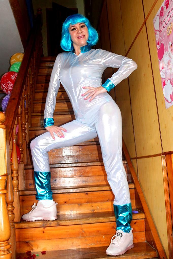 Маскарадный костюм «Инопланетянка»