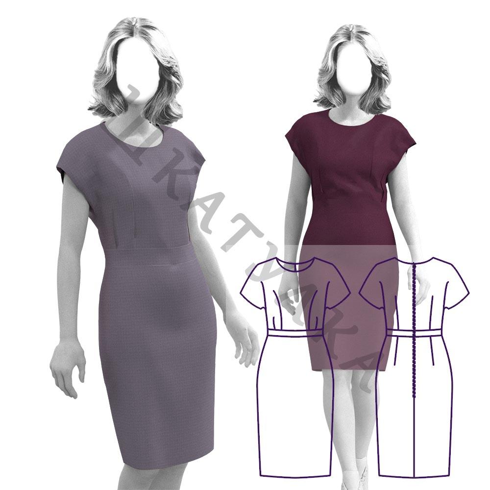 Выкройка платья WD230919