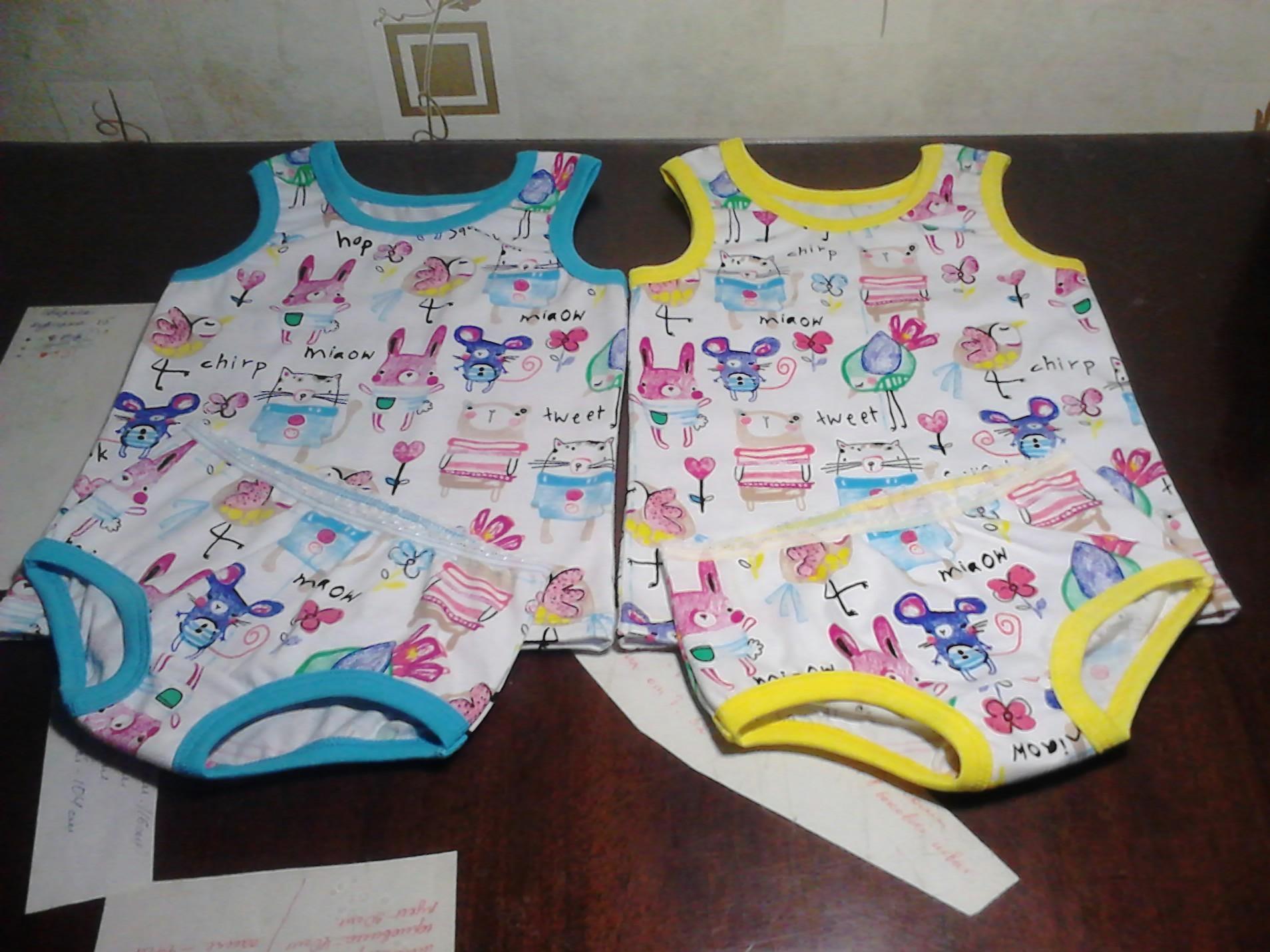 Майка и шорты для девочки сшить фото 567