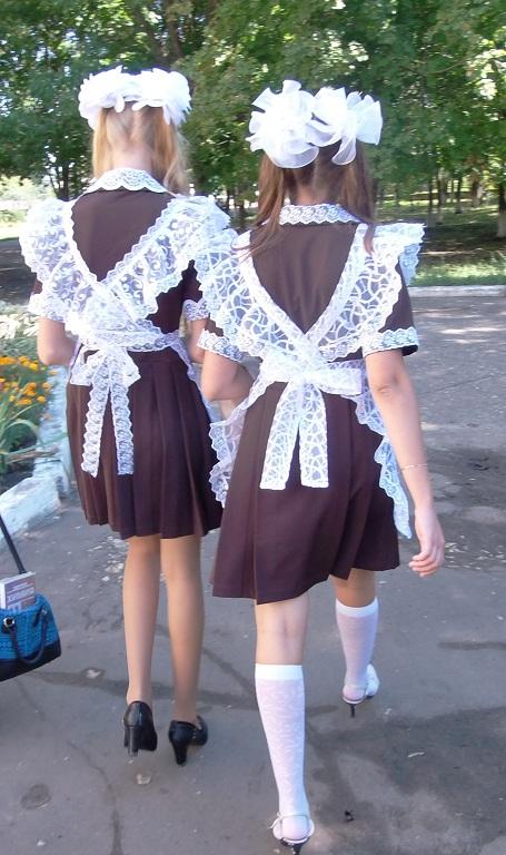 Как сшить платье на школьную форму