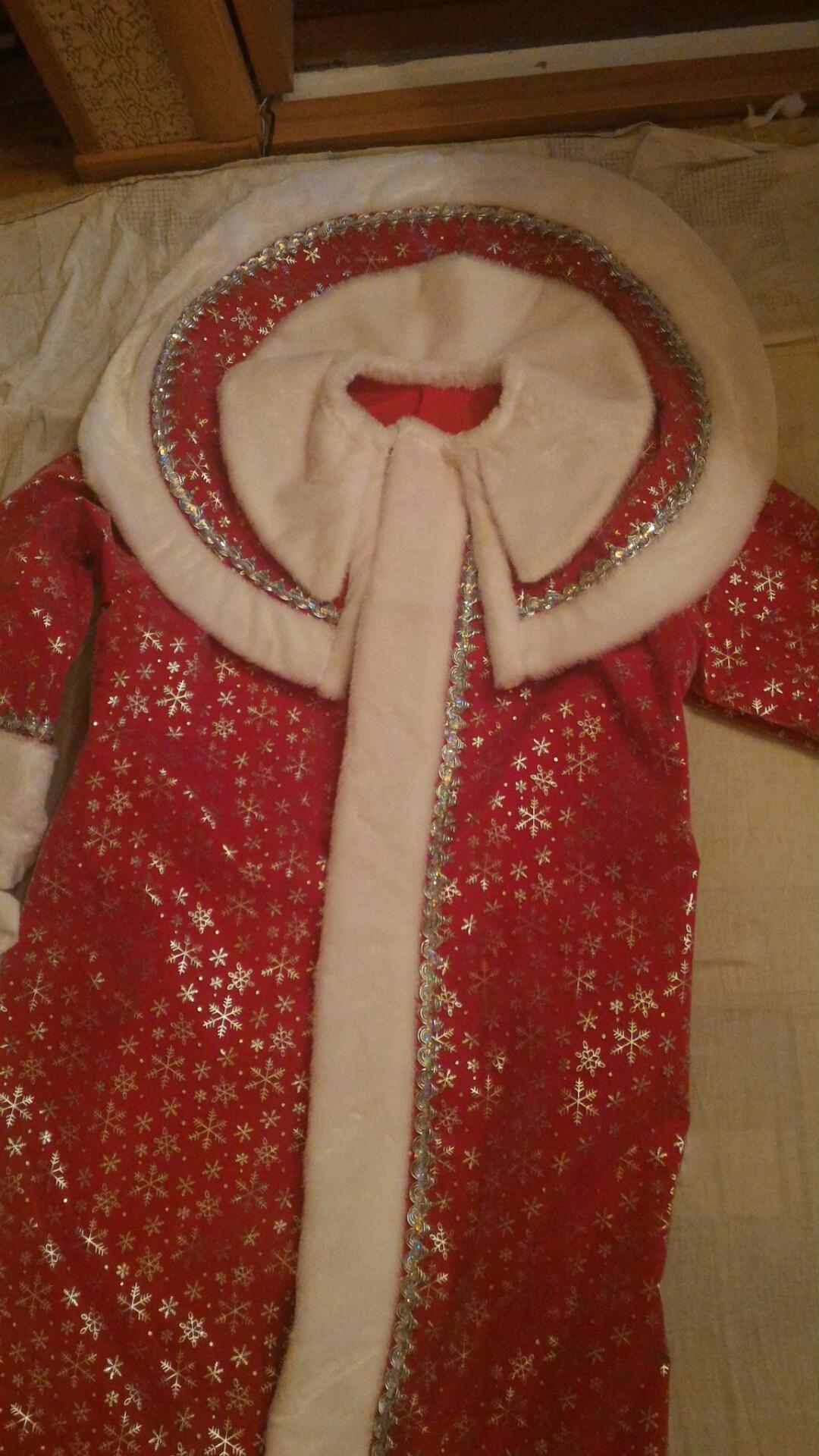 Как сшить костюм Деда Мороза без расходов 14