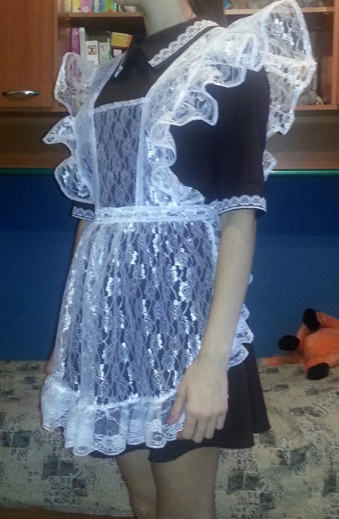 Сшить школьное платье ссср своими руками 85