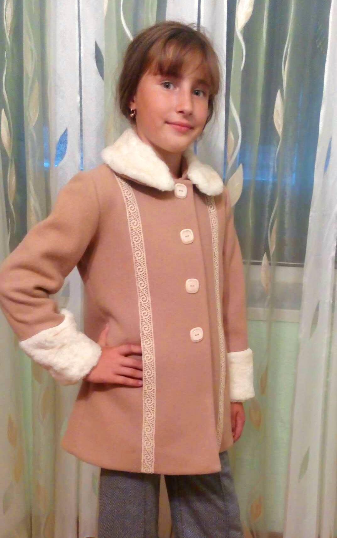 Выкройка пальто для девочки рост 116 фото 874