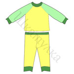 Выкройка детской пижамы
