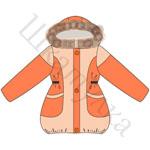 Выкройка куртки для девочки