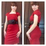 Фото-отчет: шьем платье