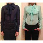 Мастер-класс: блузка для девочки