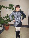 Мастер-класс: трикотажное платье с асимметричными вставками