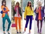 Как и с чем носить яркие вещи?