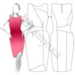 Платье D14 - готовая выкройка