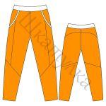 Выкройка спортивных брюк KMB240817