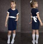 Мастер-класс: шьем школьное платье