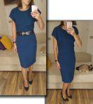 Мастер-класс: платье с удлиненным плечом