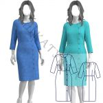 Выкройка платья WD281019