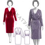 Выкройка платья WD281119