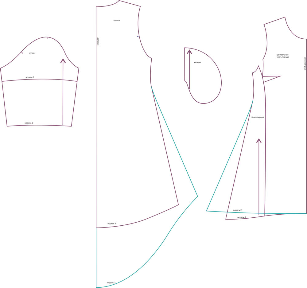 Готовые Выкройки Одежды Бесплатно