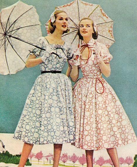 Женские платья 50 60 х годов фото